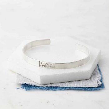 Sterling Silver Coordinate Bangle
