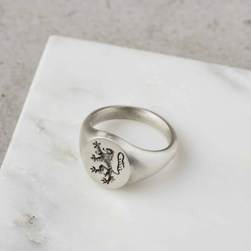 original_sterling-silver-heavyweight-lion-rampant-signet-ring